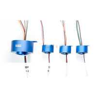 1PC Hole Slip Ring 2 4 6 8 12 Channel 1 5 2 10A Hollow Slipring