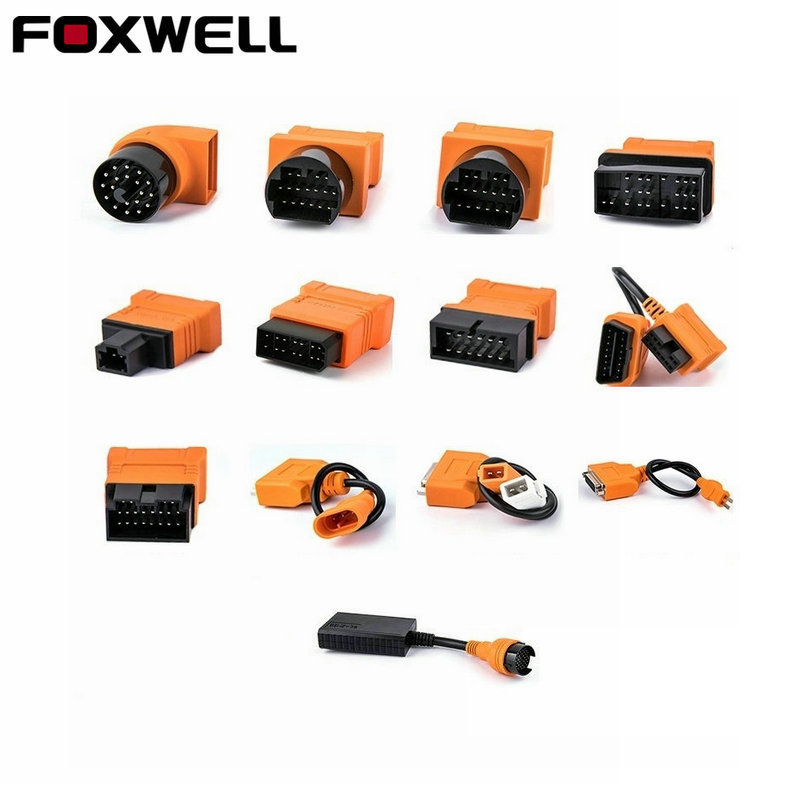 Foxwell Original OBD OBD2 Cable for BMW 20PIN OBDI Connector for benz 38pin for Toyota 22PIN