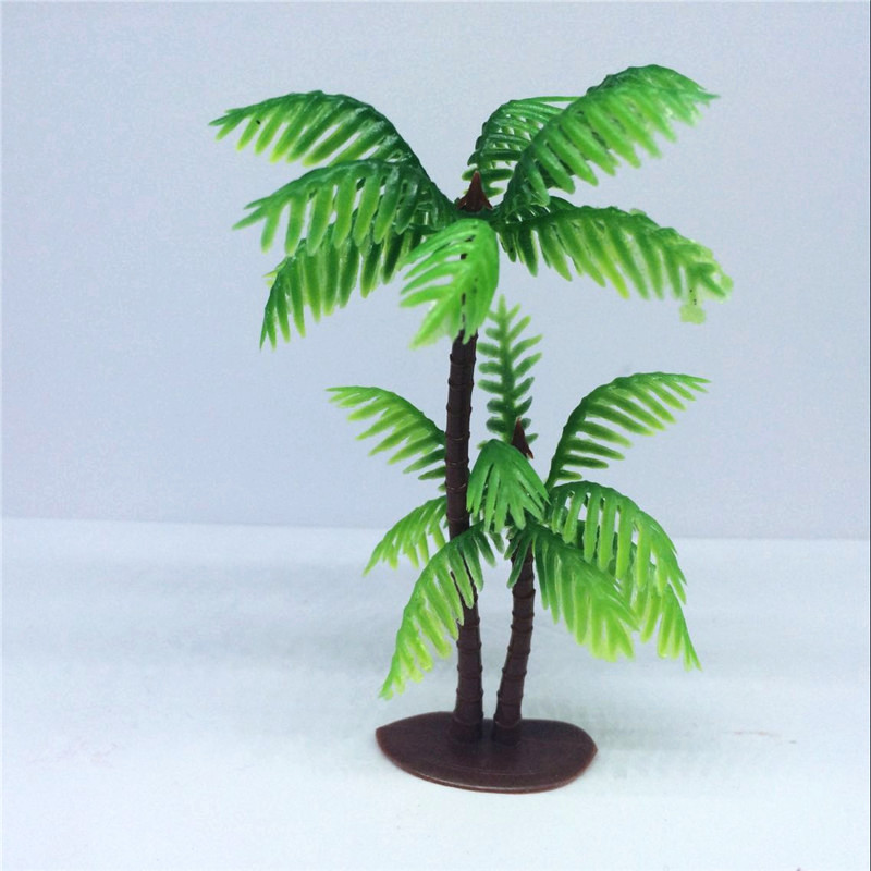 Online get cheap plastic palm leaves for Cheap trees
