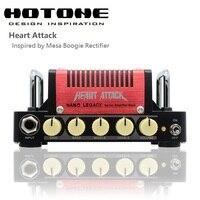 Hotone Nano Legacy Hart Aanval 5 Watt Metal Sound Mini Gitaar Versterker Hoofd Geïnspireerd door Mesa Boogie Gelijkrichter