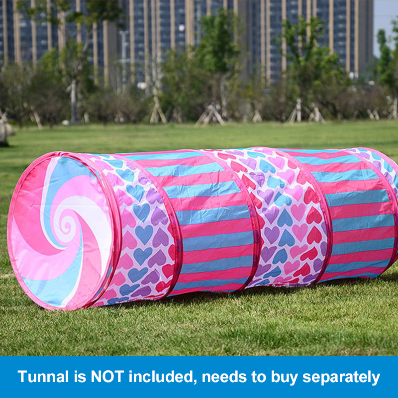 the latest 90f0b d29a0 YARD Play Tent Caste House For Kids Children Baby Tunnel ...