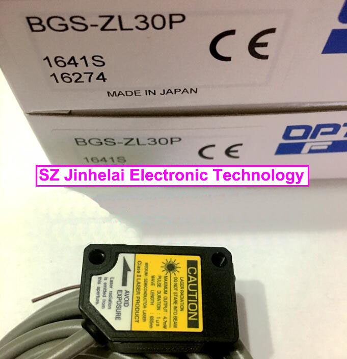 New and original  BGS-ZL30P  OPTEX   Laser sensor, Photoelectric switch  PNP new and original bgs 2v50n optex photoelectric switch photoelectric sensor npn output