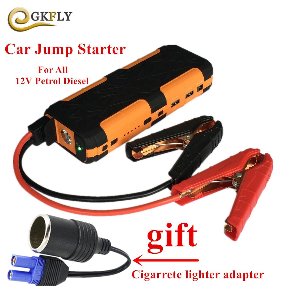 все цены на 800A Peak Current Car Jump Starter Portable 20000mAh Starting Device Power Bank 12V Car Battery Charger For Deisel Petrol Buster онлайн