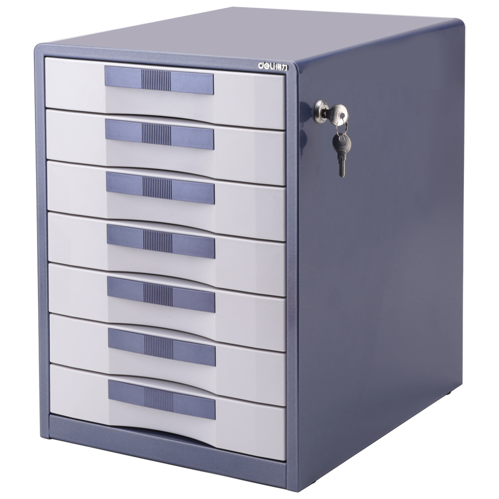 Office Lockable Cabinets Deli 9703 Desktop Office File Cabinet Collate Lockable Storage
