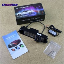 цена на Liandlee For Toyota Vanguard 2006~2012 Car Lamp Prevent Rear-end Collision Warning Laser Light Haze Rain Fog Snow Lights
