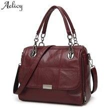 3397db405a Aelicy Women Messenger Bag High Quality PU Leather Women s Shoulder Bag  Vintage Fake Designer Handbag Fashion