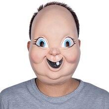 X merry игрушка 2019 новая пластиковая маска для хеллоуина счастливый день смерти маска из фильма ужасов «Косплэй Реплика реквизит для вечерние