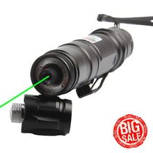 Hot Outdoor Laser Pointer 5 miles 532nm Green Flashlight Strong Pen Low Consumption Military Nobattery