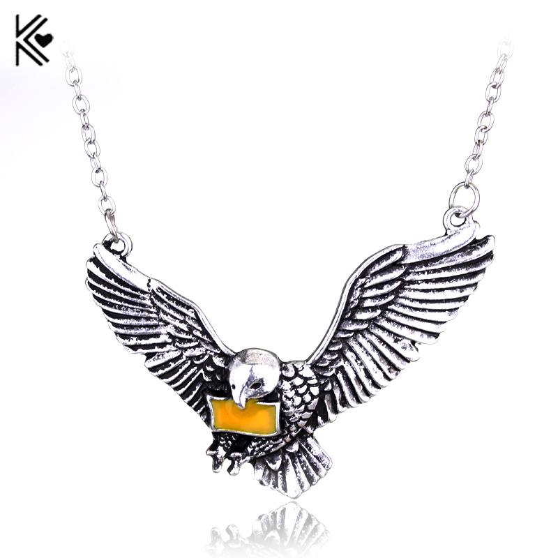 Hot Movie Magic School Hyde pigeons Pendant & Necklace High Quality Women And Men Vintage Statement Necklace Fashion Jewelry