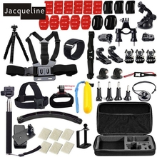 Jacqueline for Go pro Travel Case Bag Pole for Gopro hero HD 6 5 4 Session /3/2 for SJCAM SJ4000 SJ5000 SJ6000 for EKEN