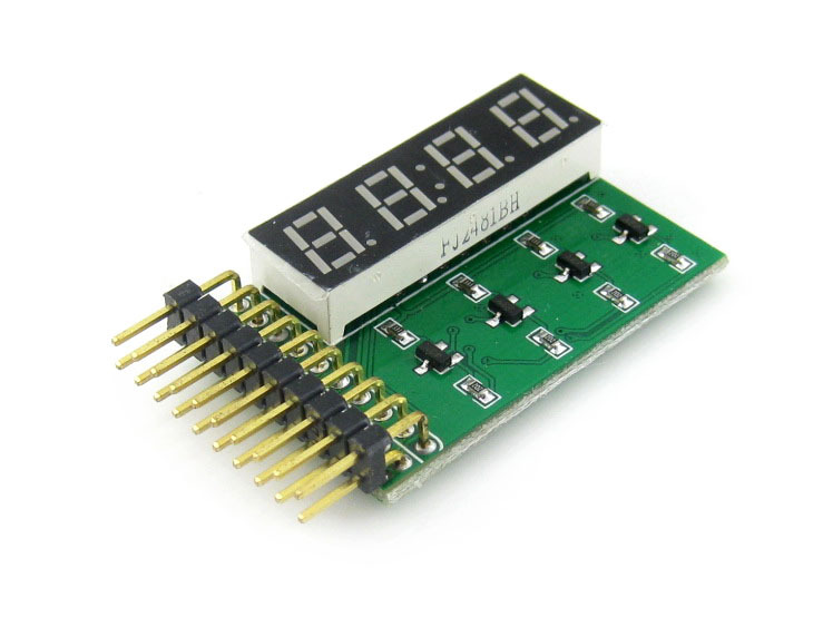 5pcs/lot 8 SEG LED Display Board Digital Clock Tube Display Module 4-Digit 8-Segment LED Display Board, Including Decimal Point