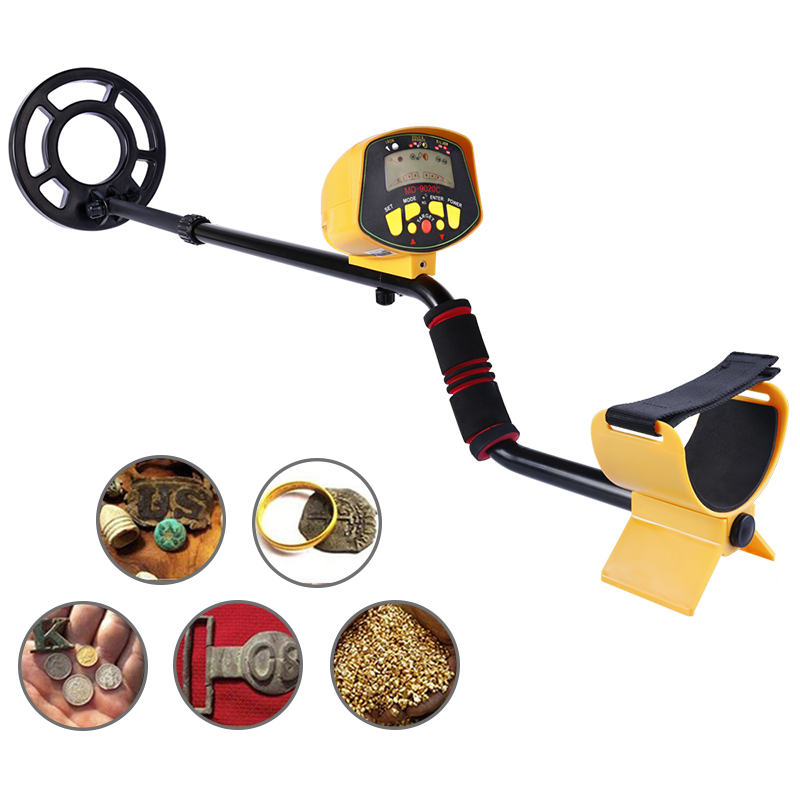 Professional Metal Detector MD9020C Underground Gold High Sensitivity and LCD Display MD-9020C Metal Detector professional deep search metal detector goldfinder underground gold high sensitivity and lcd display metal detector finder