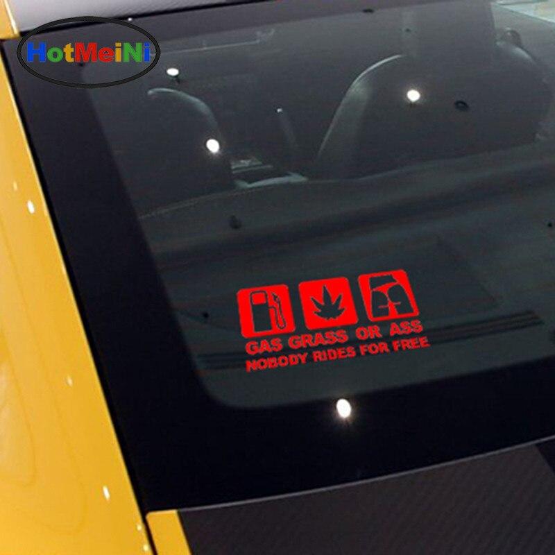 HotMeiNi 16 * 7.5 CM Car Styling GASS GRASS ASS JDM Զվարճալի - Ավտոմեքենայի արտաքին պարագաներ - Լուսանկար 6