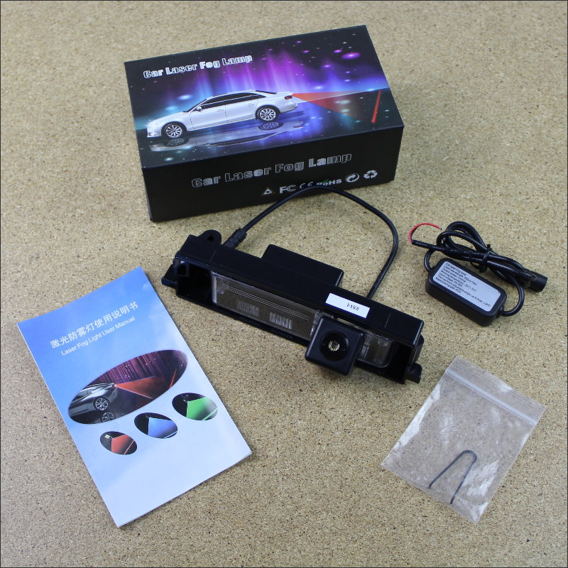 For Toyota Yaris XP10 Hatchback 1998~2005 Car Tracing Cauda Laser Lights Collision Avoidance Warning Light Fog lamps Saft Drive