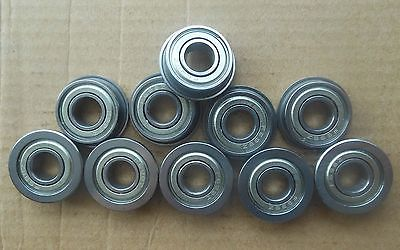 10pcs Miniature Flange Bearing 5 x 9 x 3mm 5*9*3 MF95ZZ 9 5