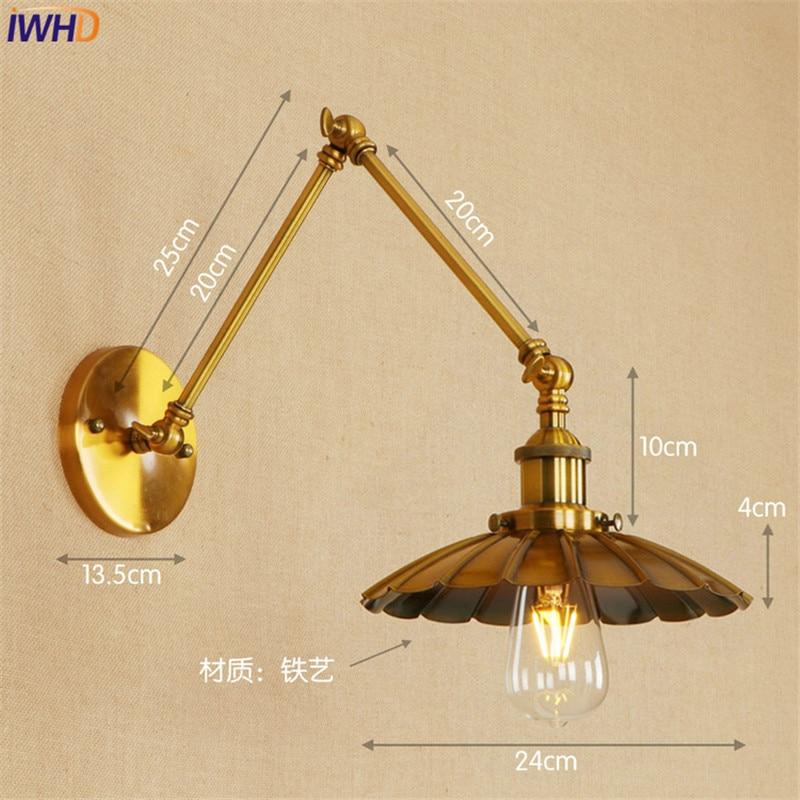 Lâmpadas de Parede de loft industrial apliks Cor do Corpo : Preto, amarelo