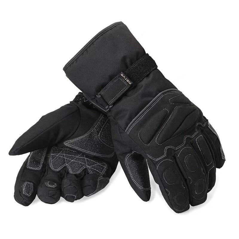 Nerve Motorbike Motorcross Cotton Gloves Bike Motorcycle Moto Racing Cycling Gloves Breathable Water Resist Windproof