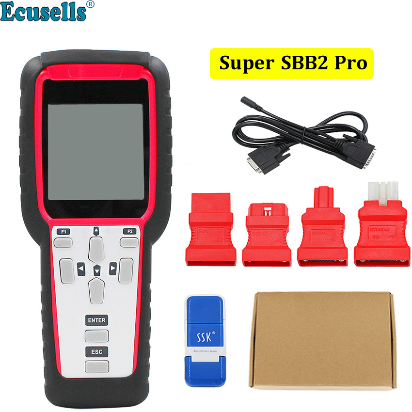 Super SBB2 Oil/service Reset/TPMS/EPS/BMS Handheld Scanner Car Diagnostic Tool Powerful than CK100 car auto key programmer