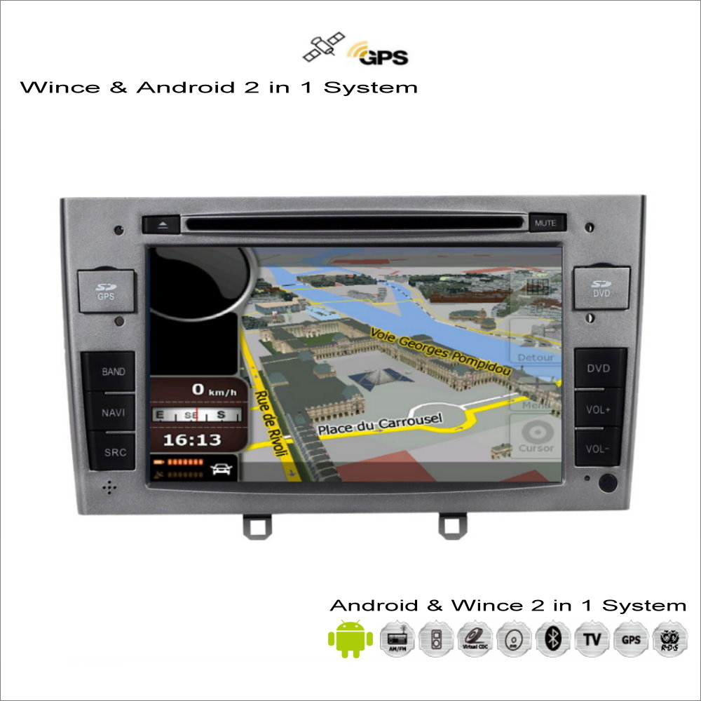 For peugeot rcz 308 408 2009 2015 car android multimedia radio cd