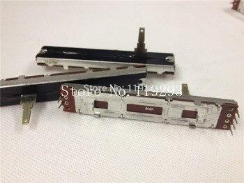 [BELLA] 8.8cm 88mm b10kx2 Original DJM 400 500 600 800 horizontal push double potentiometer B10K--10PCS/LOT
