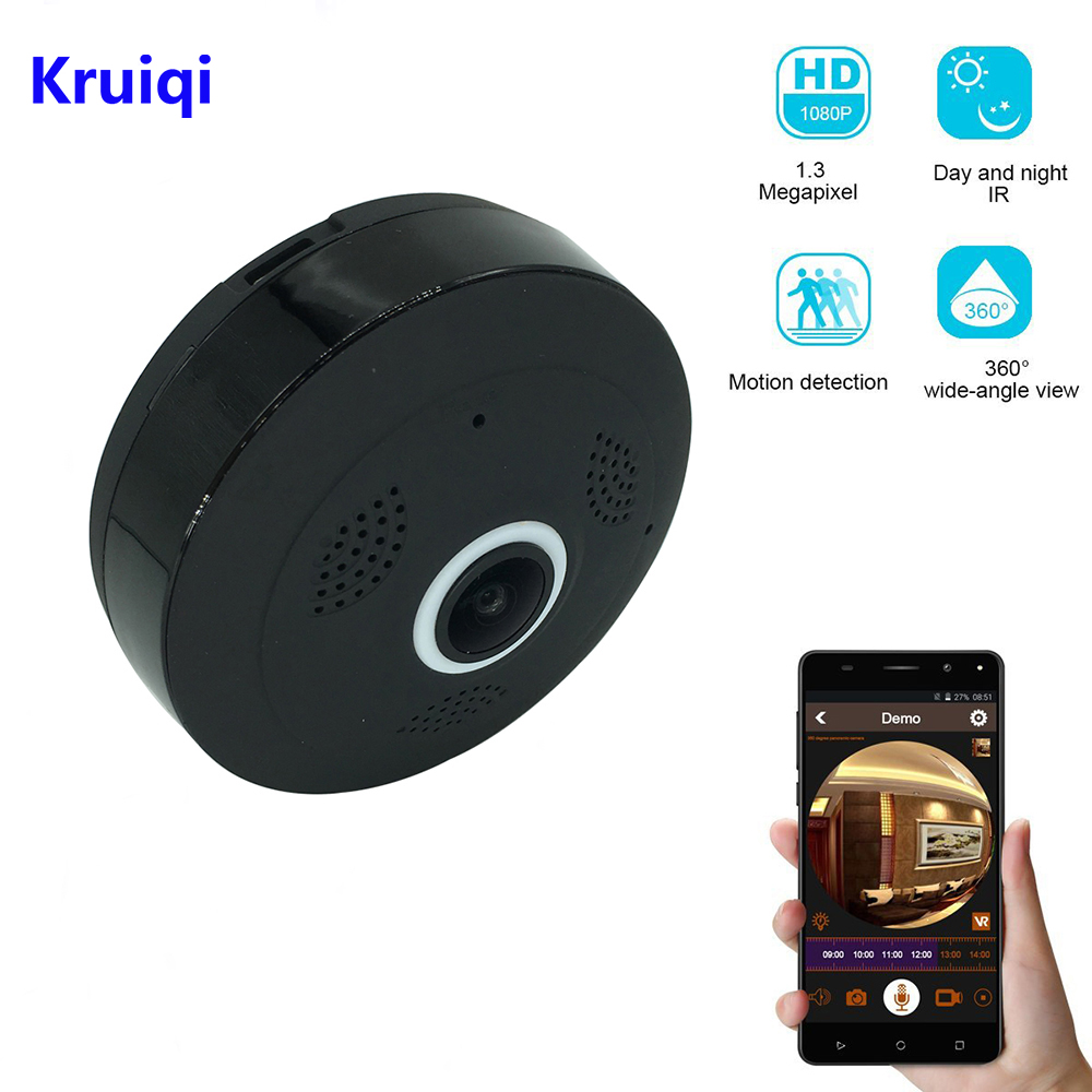 Kruiqi Mini WiFi Camera Security IP Camera 960P Wireless WI-FI Audio Record Surveillance Baby Monitor HD Mini CCTV CameraKruiqi Mini WiFi Camera Security IP Camera 960P Wireless WI-FI Audio Record Surveillance Baby Monitor HD Mini CCTV Camera