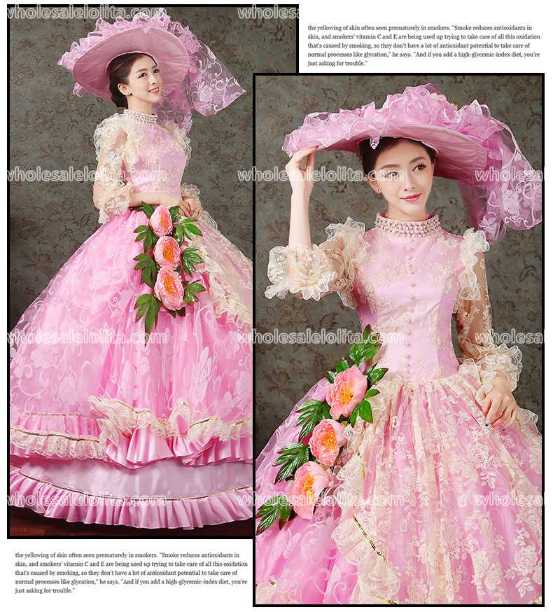 Hot Sell Victorian Ball Gowns Rococo Prom Dress/ Marie Antoinette ...