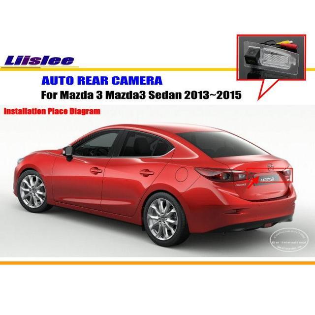 Liislee car rear view camera for mazda 3 mazda3 sedan 20132015 liislee car rear view camera for mazda 3 mazda3 sedan 20132015 reverse camera asfbconference2016 Choice Image