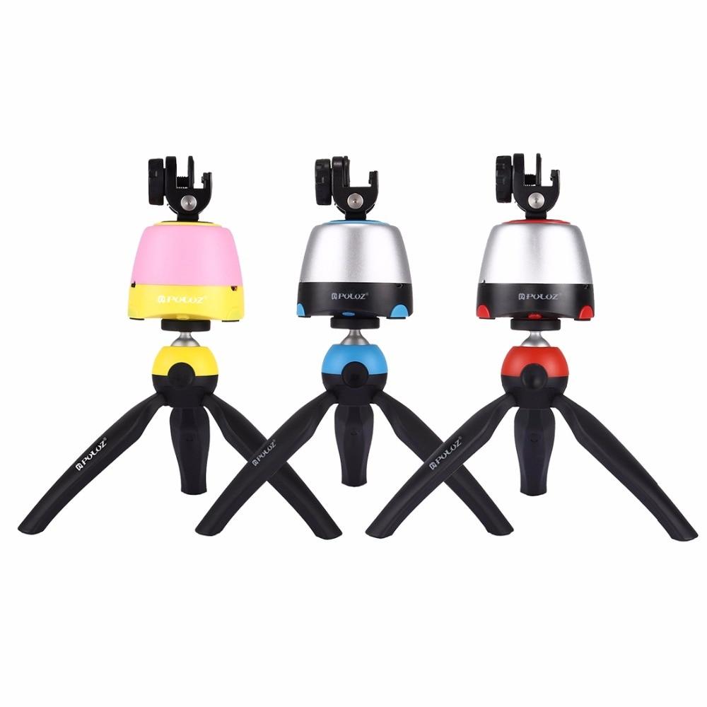 3 in 1 Mini Tripod with 360 Rotation Panoramic selfie Robot Selfie Sticks