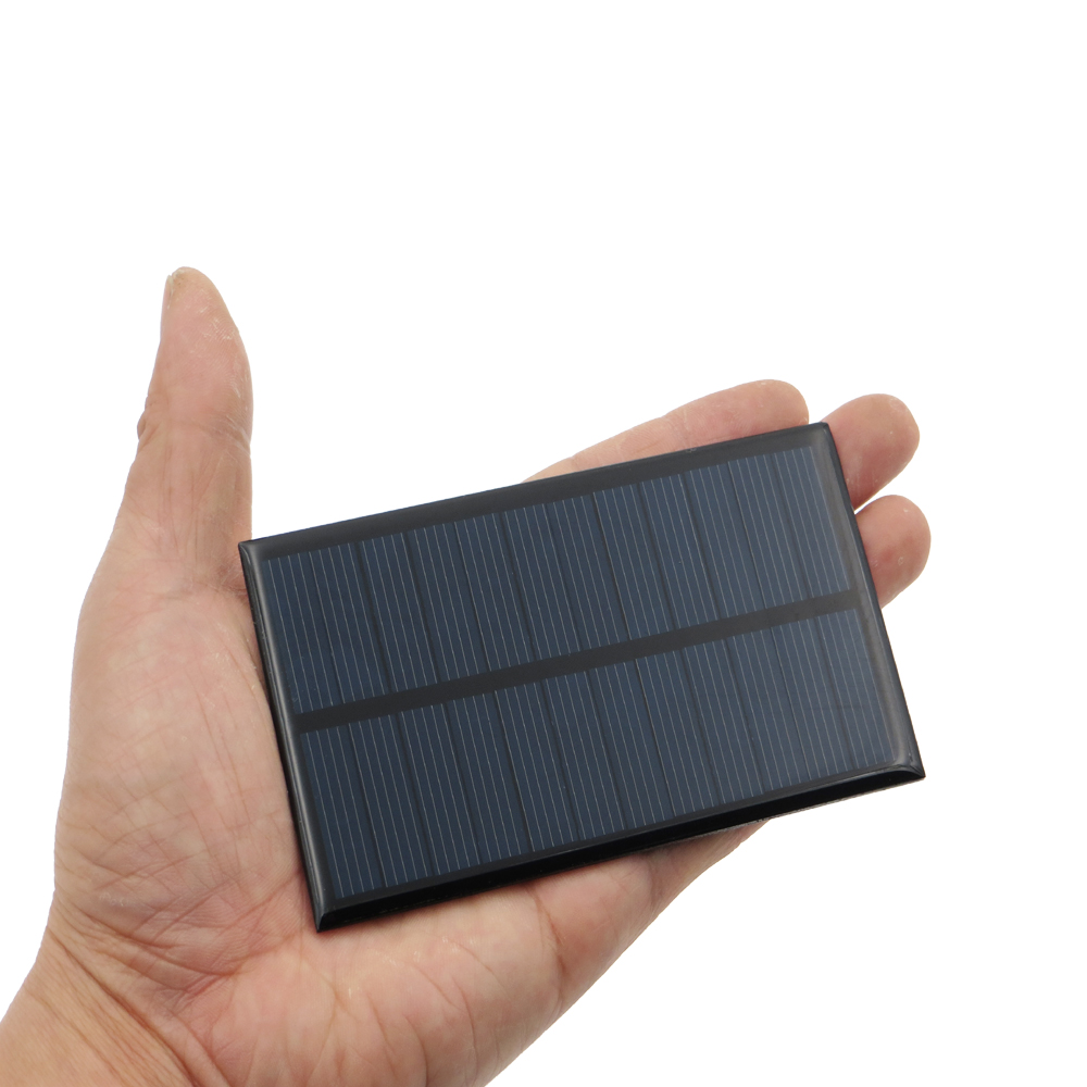 0 3w 5 5v 55ma Mini Solar Panel Module Solar System Epoxy Cell Charger Diy New C