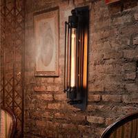 Vitrust 산업 벽 램프 에디슨 빈티지 조명 로프트 거실 침실 현관 레스토랑 바 홈 조명기구 침대 옆