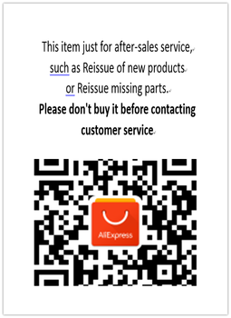 just for replacement of items or Reissue missing parts, dont buy it before contacting customer service