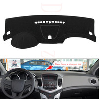 Dongzhen For Chevrolet Cruze 2009 2014 With Storage Box Car Dashboard Cover Avoid Light Pad Instrument