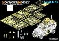 Вояджер модель 1/35 PE35682 современных нас 4 X 4 MRAP MaxxPro Armoered боевая машина ( atenna база включают ) ( для кинетическая K61011 )