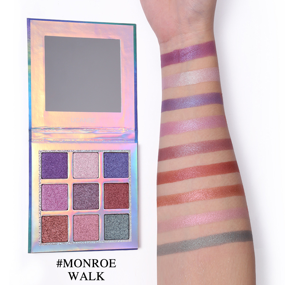 Fashion Style Miaool 15 Colors Shimmer Eyeshadow Palette Waterproof Gold Purple Blue Eyeshadow Powder Mineral Brighten Smoky Eyeshadow Mn103 Eye Shadow
