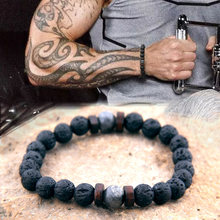 NATURAL MOONSTONE BEAD TIBETAN BUDDHA BRACELET,CHAKRA LAVA STONE DIFFUSER BRACELET,3 WITH GIFT BAG FREE(China)