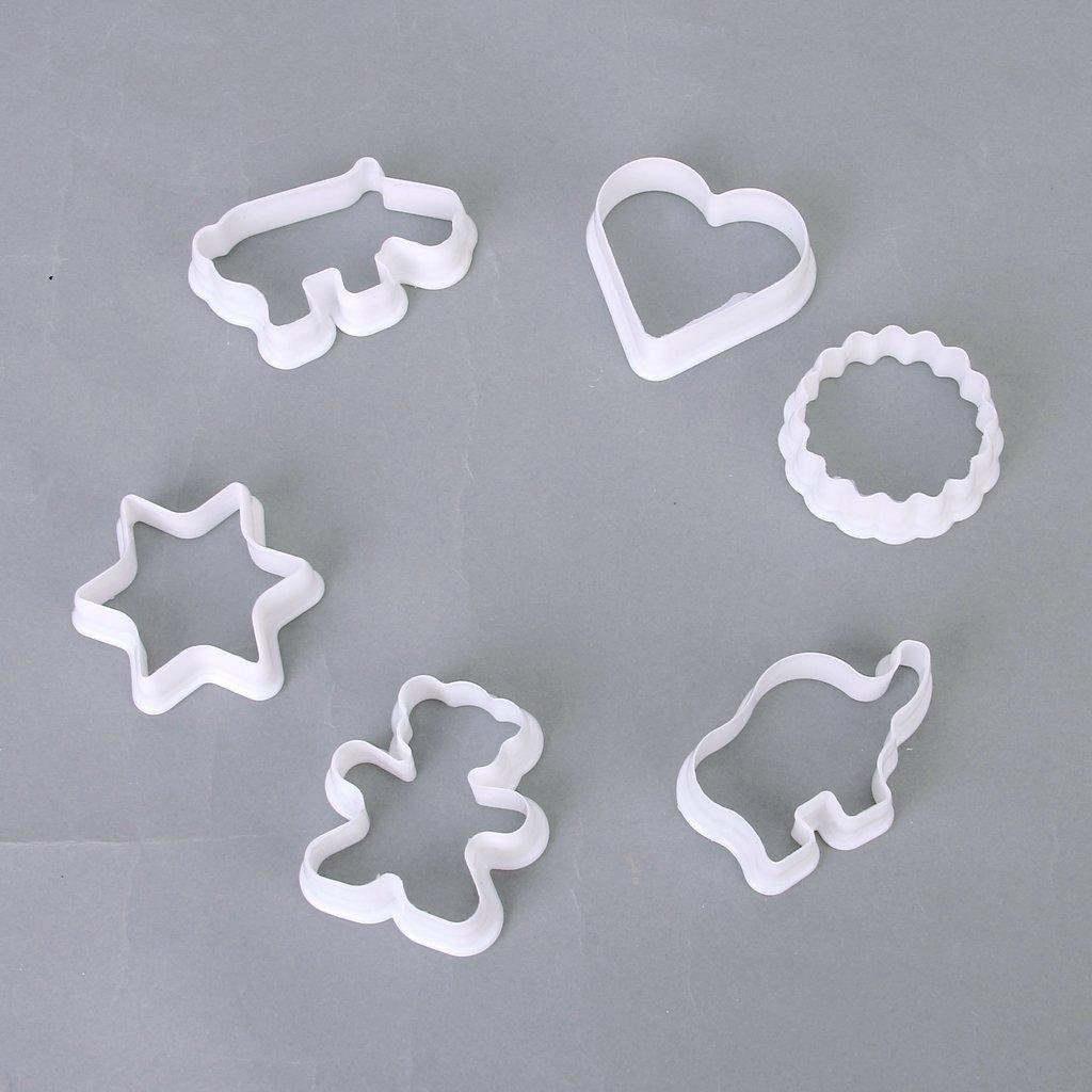 Set de 6pcs emporte pieces moules de coupe de cookie - Coupe cigare emporte piece ...