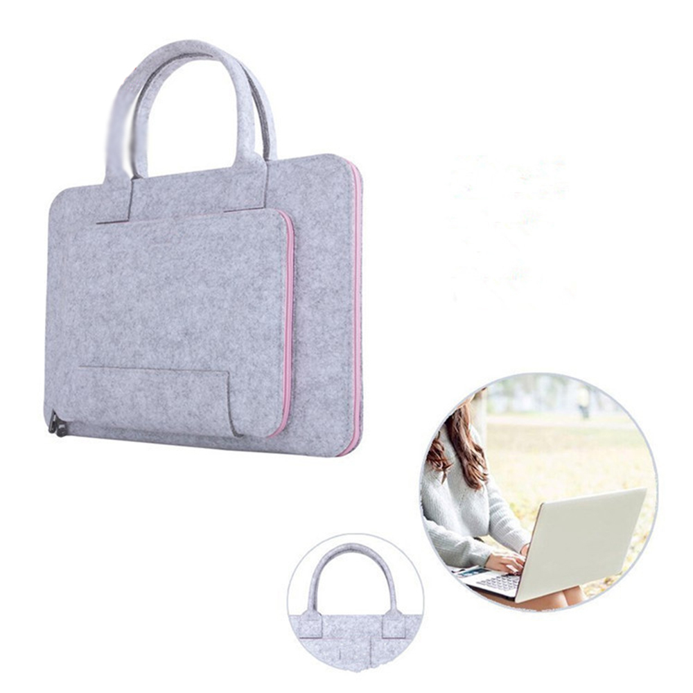 Gmilli Wool Felt Casual 17 16 15 12 11 inch Laptoptas Notebook - Notebook accessoires - Foto 3