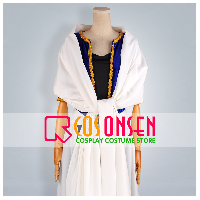 COSPLAYONSEN Magi The Labyrinth of Magic Sinbad Cosplay Costume All Sizes+Hat