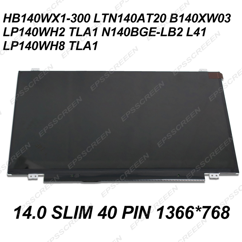 new replacement PANEL FOR Asus UL80J BBK5 14 Genuine Laptop LCD Glossy Screen LED MATRIX SCREEN