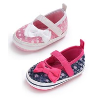 Spring Summer Baby Girl First Walker Newborn Dot P ...