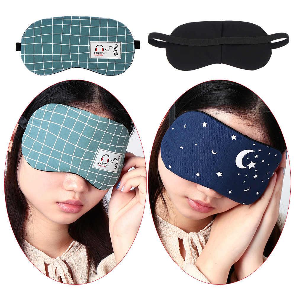 7 Gaya Masker Mata Penutup Mata Lembut Mata Tidur Masker Fashion Bergaris Gaya Kreatif Santai Tidur Band Bantuan Penutup Mata Sex Game -20