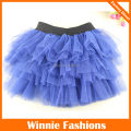 Etek Falda Free Shipping!fashion Summer Girls Skirt Navy Pettiskirt Baby Tulle Layered Tutu Children Short Skirts Party Clothes