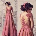 Vestido de festa Robe de soirée Vestido de Noche Largo 2016 Sexy boda Vestido de Fiesta Largo Rojo de Satén de Baile Vestido de Gasa Vestido Formal