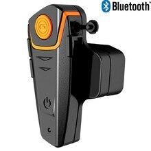 1000 M 6 Jinetes FM A2DP BT de La Motocicleta del Intercomunicador Inalámbrico Bluetooth Impermeable Auriculares Casco Intercomunicador Del Auricular Nuevo