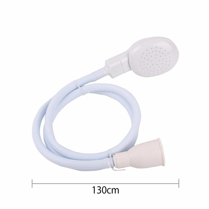 Pet Bath Faucet Shower Head Multi-function White Tap Spray Drains Strainer Hose Sink Washing Hair Wash Shower9