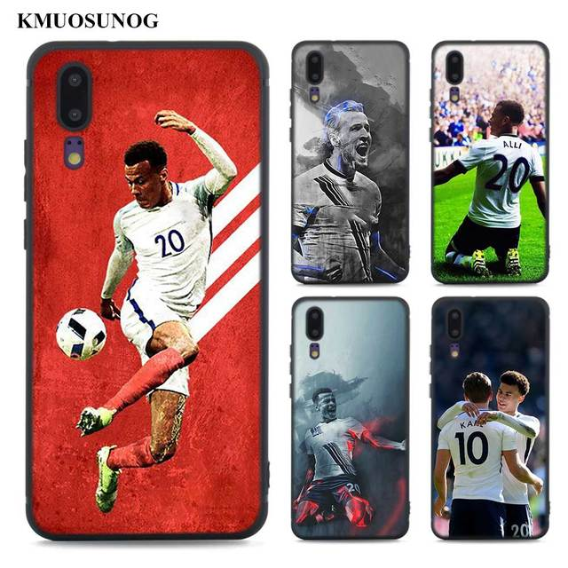 low priced 4fdc4 65462 US $1.84 41% OFF Black Soft Silicone Phone Cases Dele Alli for Huawei Honor  Mate P20 7A Pro P10 P9 10 9 Lite 2017 P Smart-in Fitted Cases from ...