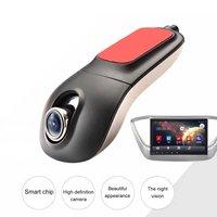 NOUVEAU Wifi Voiture-détecteur Haute Définition Nuit Vision Caché Véhicule Enregistreur Avant Single Lens DVR Sans Affichage Vente Chaude