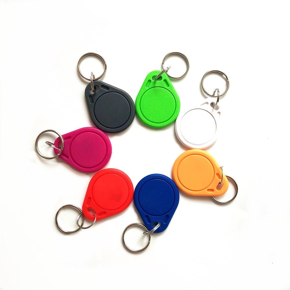 1PCS 13.56MHz IC UID Card Clone Changeable Smart Keyfobs Key Tags 1K S50 RFID Access Control Block 0 Sector Writable Color Rando