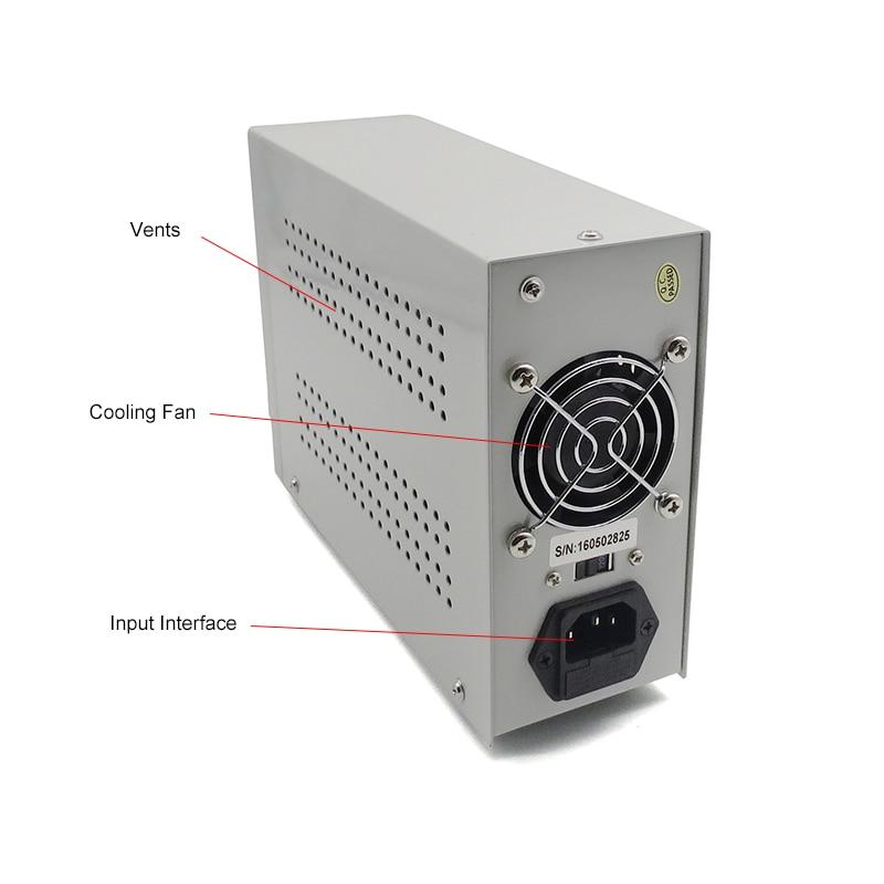 LW 3010D DC alimentation numérique réglable batterie au Lithium charge 30 V 10A commutateur laboratoire alimentation régulateur de tension - 4
