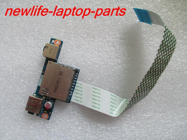 Original G40-30 G40-45 G40-70 Z40-70 G50 Z50 G50-30 G50-70 Audio Lector de Tarjetas USB Board NS-A275 ACLU2 NBX0001AH00 envío gratis